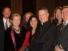 Mike Jackson, Melanie Bartels Graw, Donna Lochow, Cheri Lomonte, Lynda MacFarland, Archbishop Broglio, Dan Baker