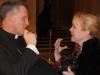 Archbishop Timothy Broglio and Cheri Lomonte